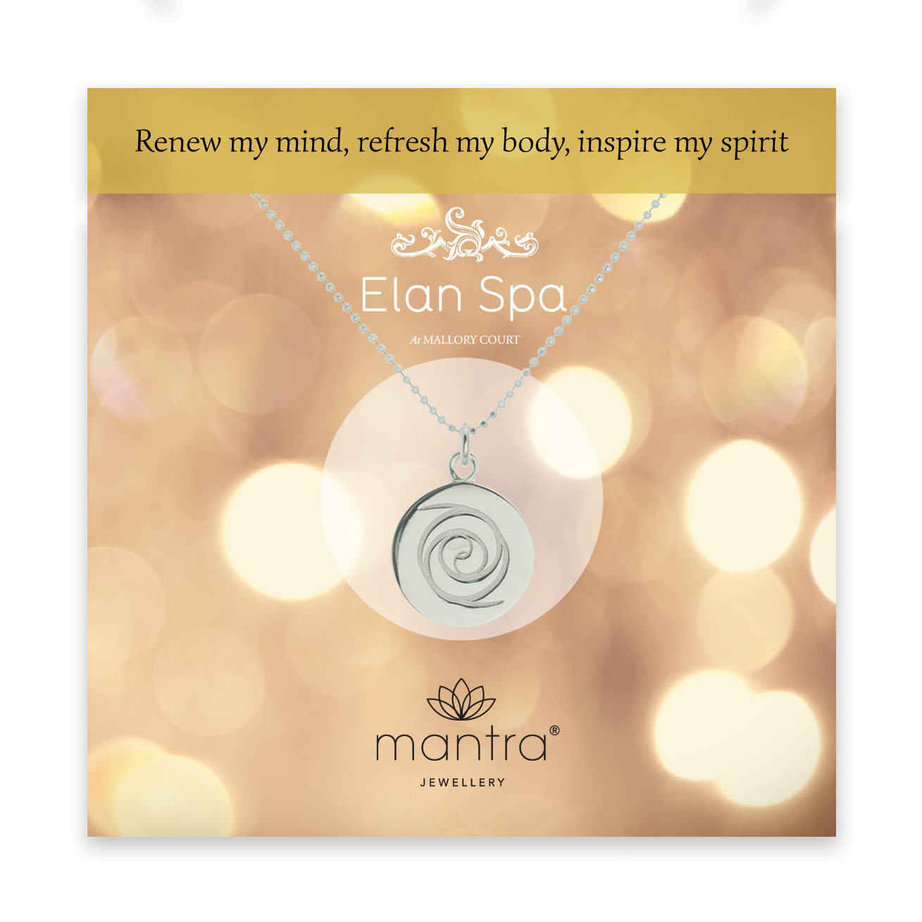 Mantra Collaboration with Elan Spa