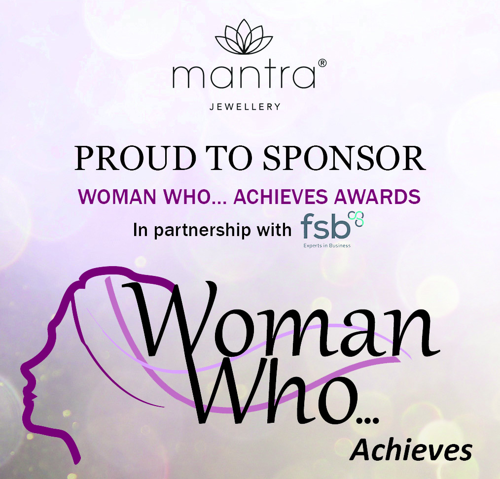Mantra is Sponsoring Woman who...Achieves Awards