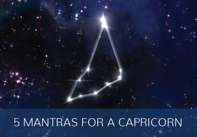 mantras for capricorn