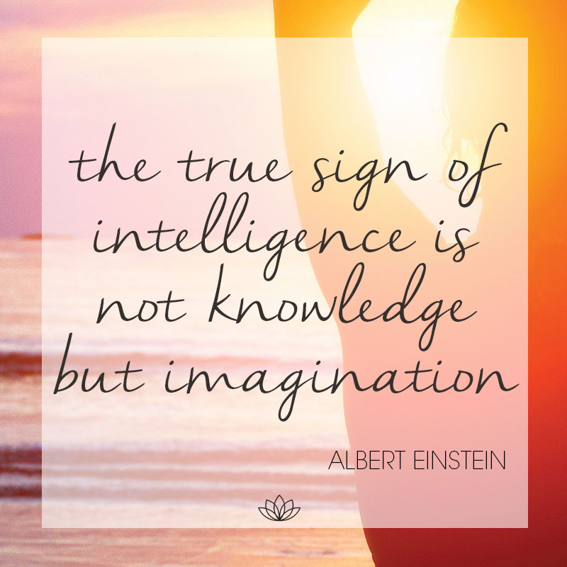 The true sign of intelligence quote