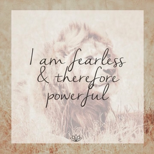 Be Fearless Quote