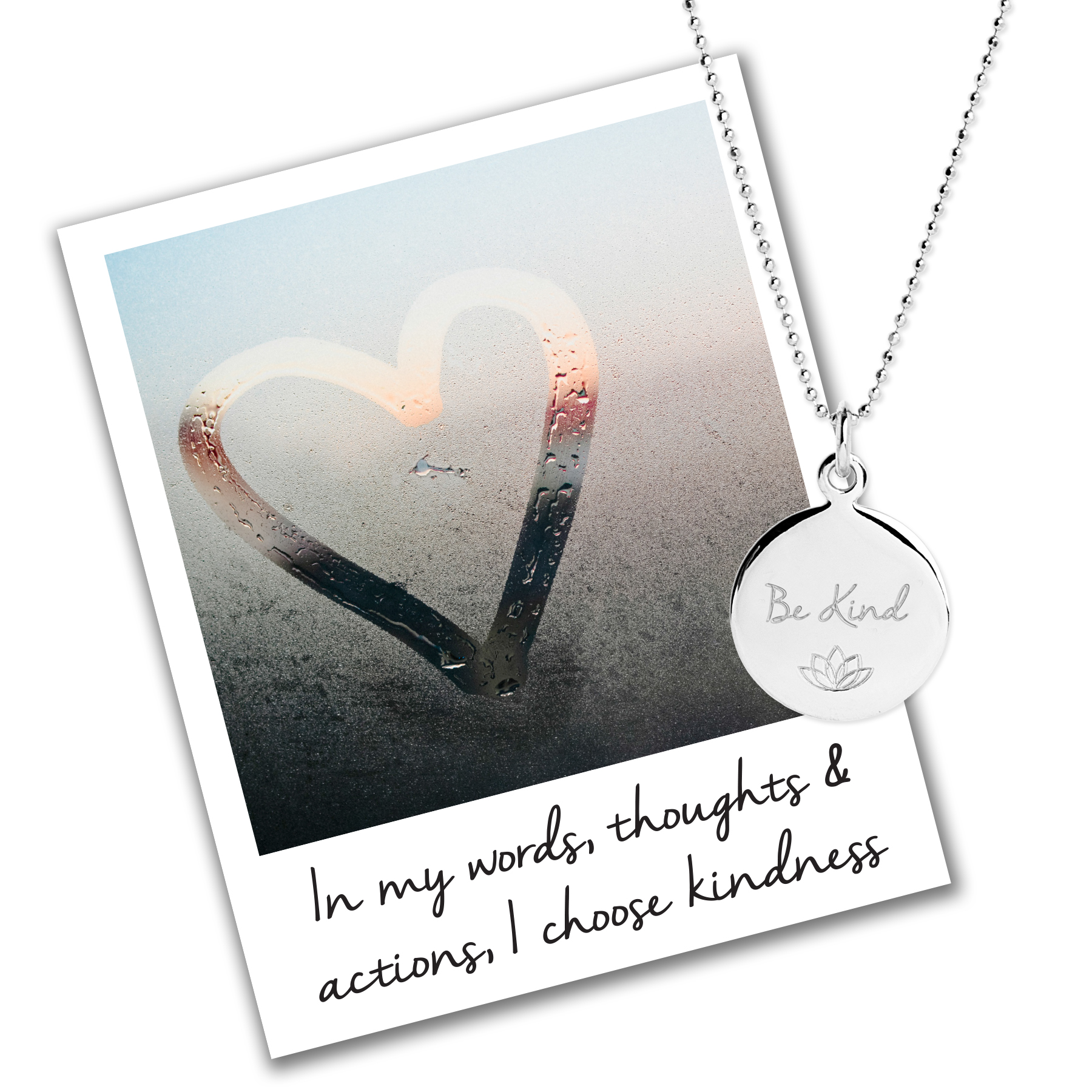 Be Kind Charity Necklace - Anti-Bullying Necklace