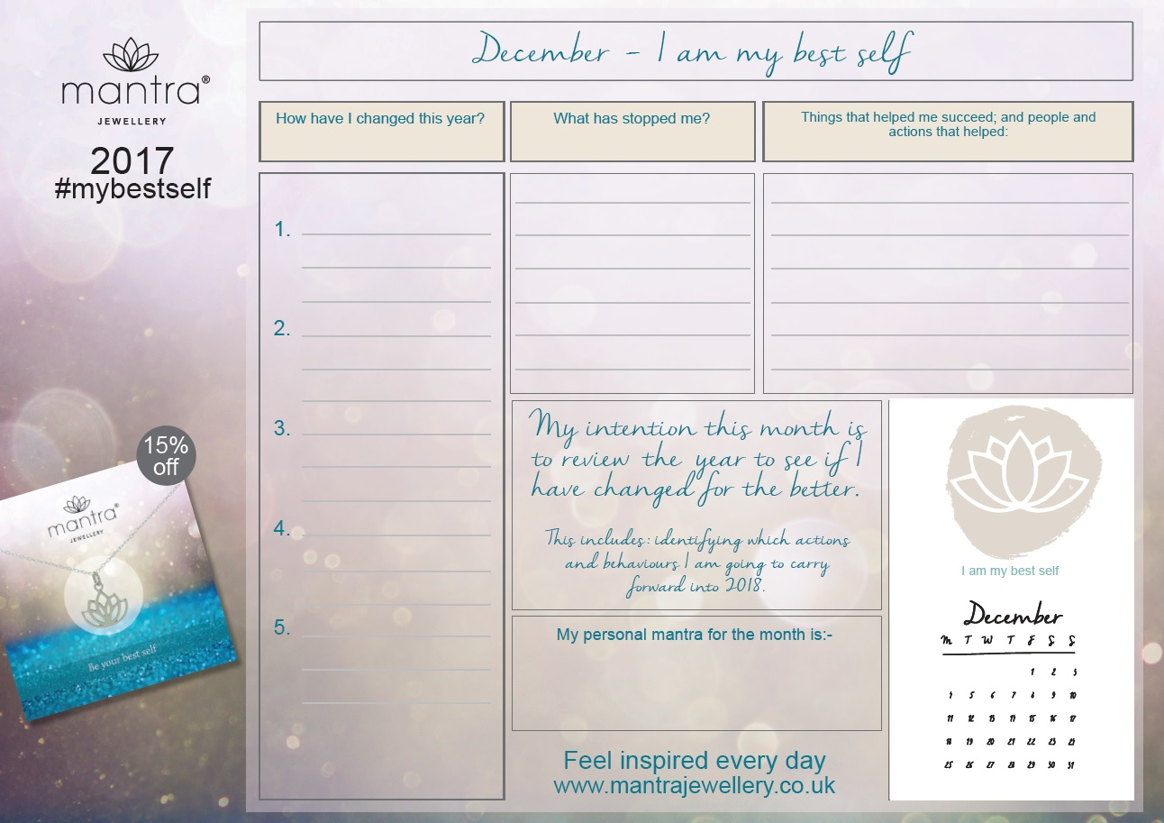 December planner - FREE Download