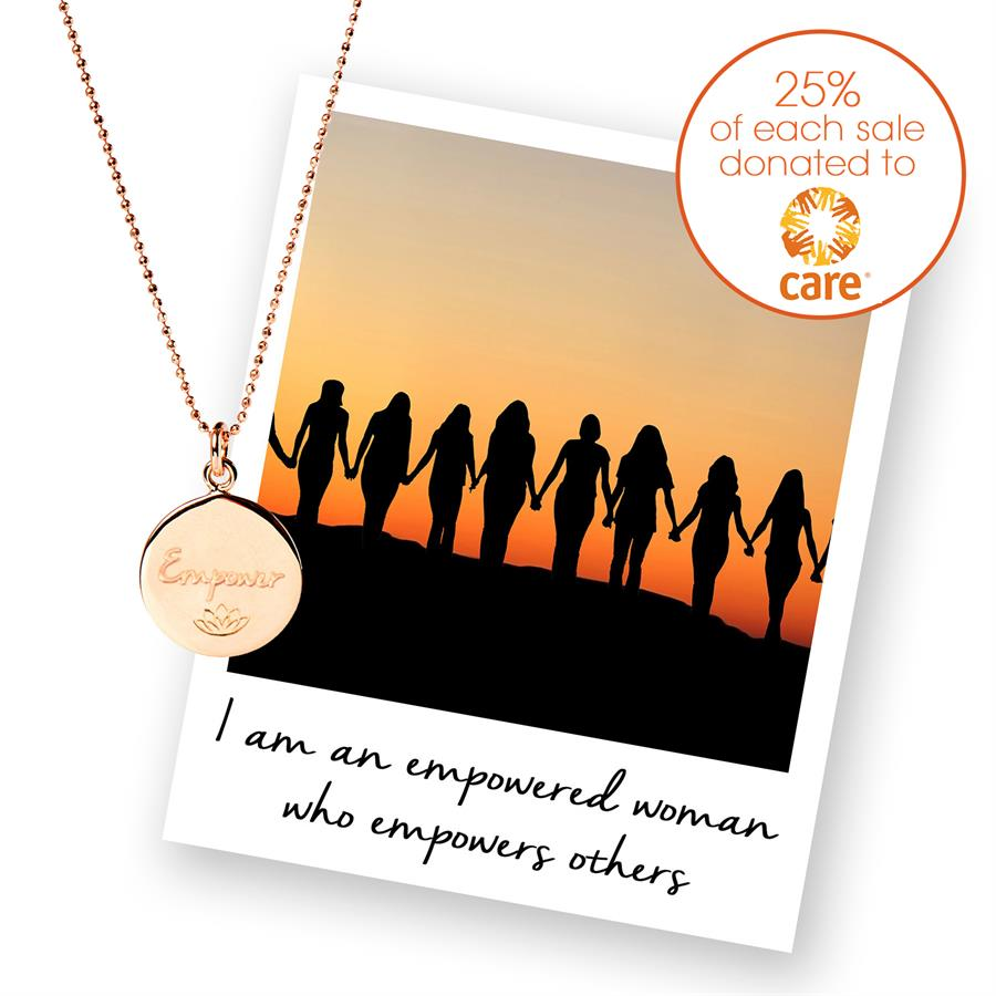 Empower Necklace for Care Intl Charity