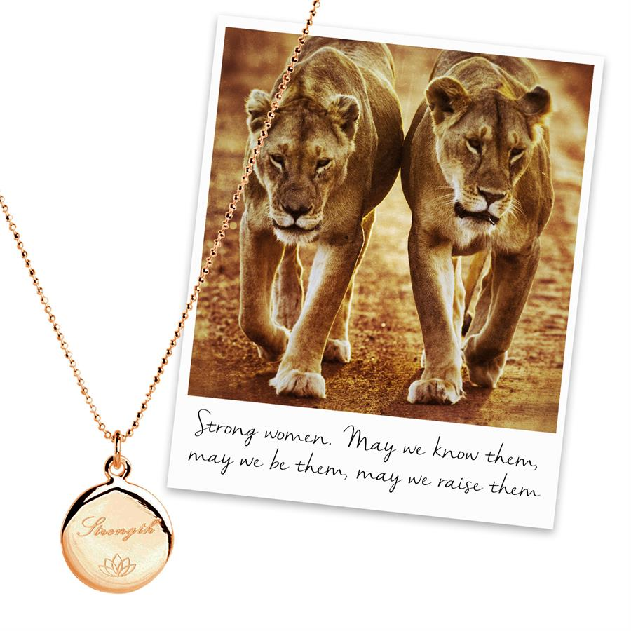 15 % off Strength Necklace