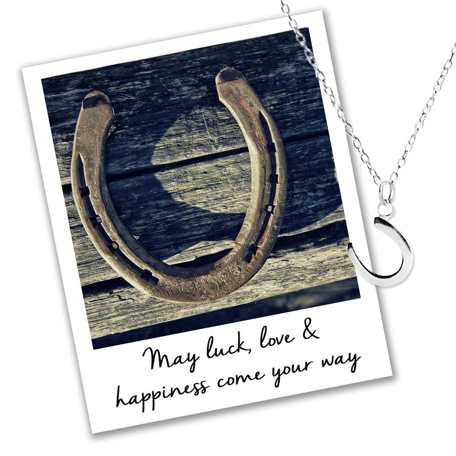 Horseshoe Necklace - Luck