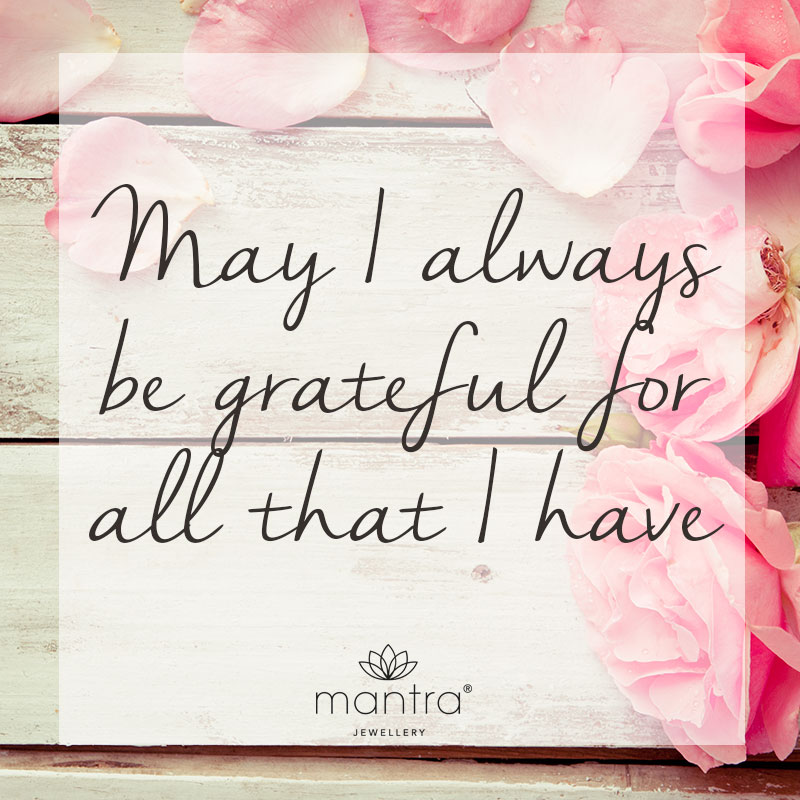 Grateful Quotes - Mantra Jewellery