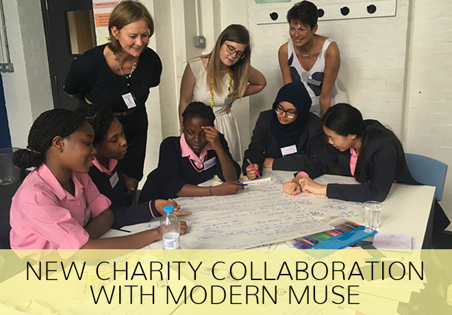 Collaboration with Modern Muse Charity