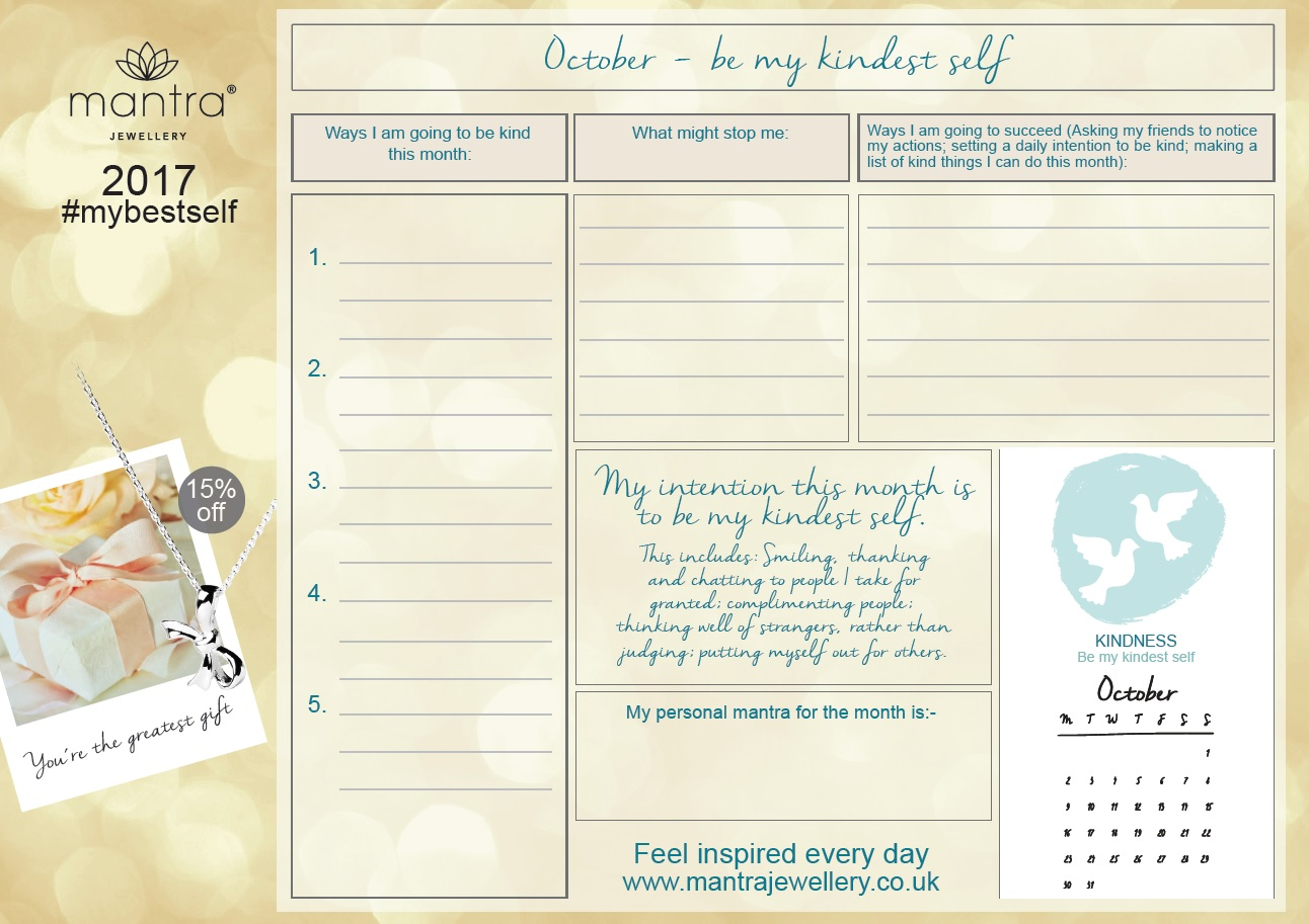October Weekly Planner FREE Download
