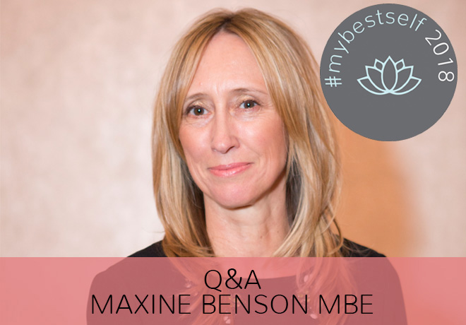 Q&A with Maxine Benson MBE