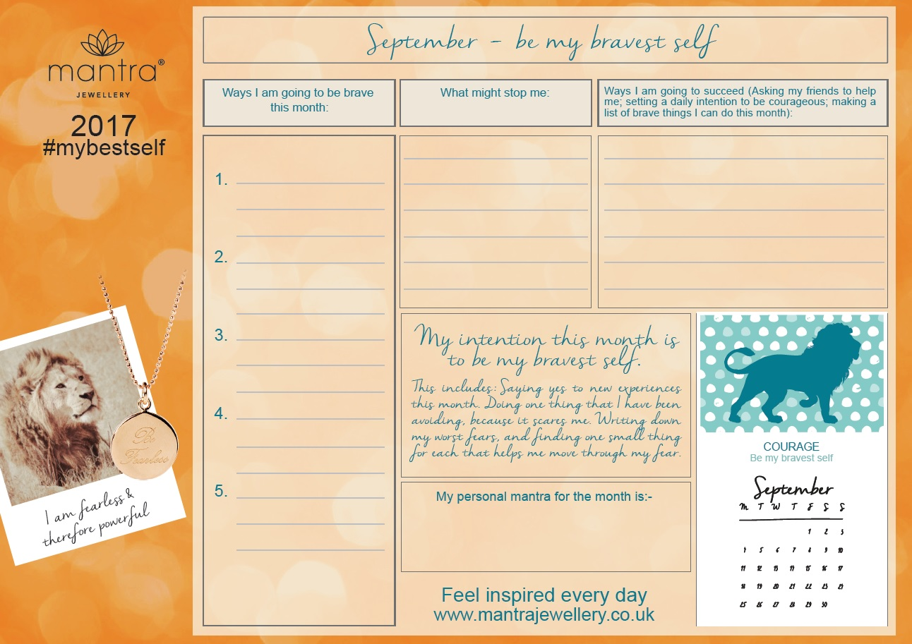 September Calendars and weekly planners
