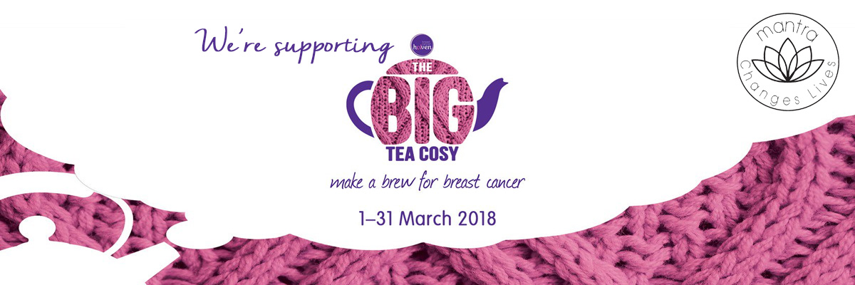 Tea cosy for breast cancer haven - Mantra Jewellery