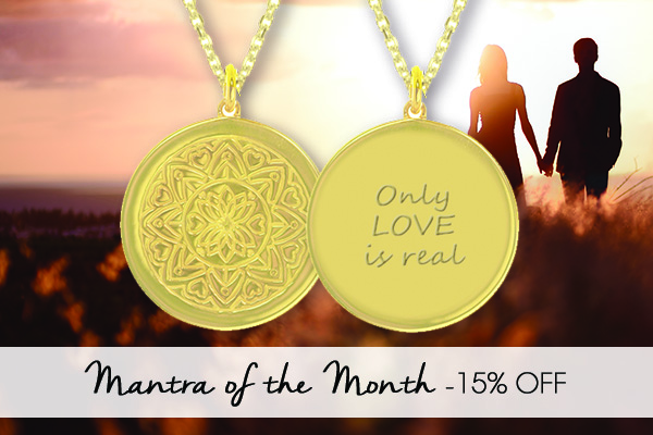 Mantra of the Month Discount on Love Mandala Necklace