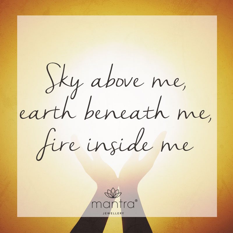 Sky, earth, fire quotes