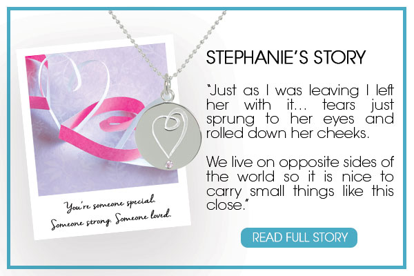 Stephanie's Story about her Mantra Jewellery