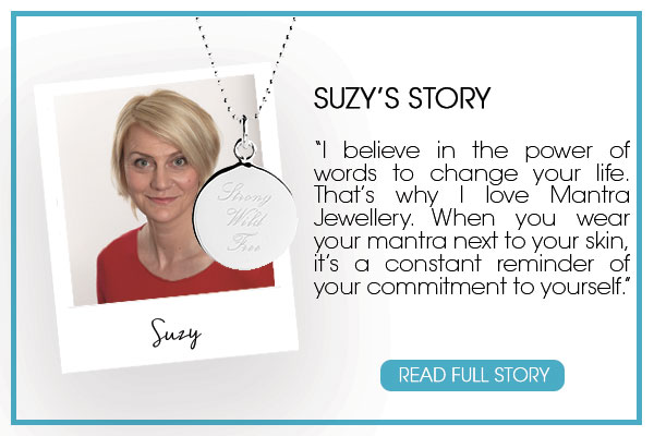 Suzy Greaves from Psychologies Magazine shares her views on  Mantra Jewellery