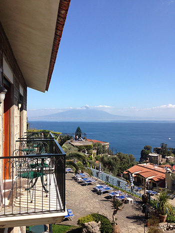 Sorrento balcony