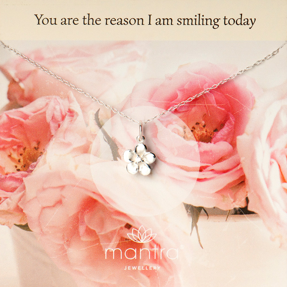 You are the reason i'm smiling today necklace