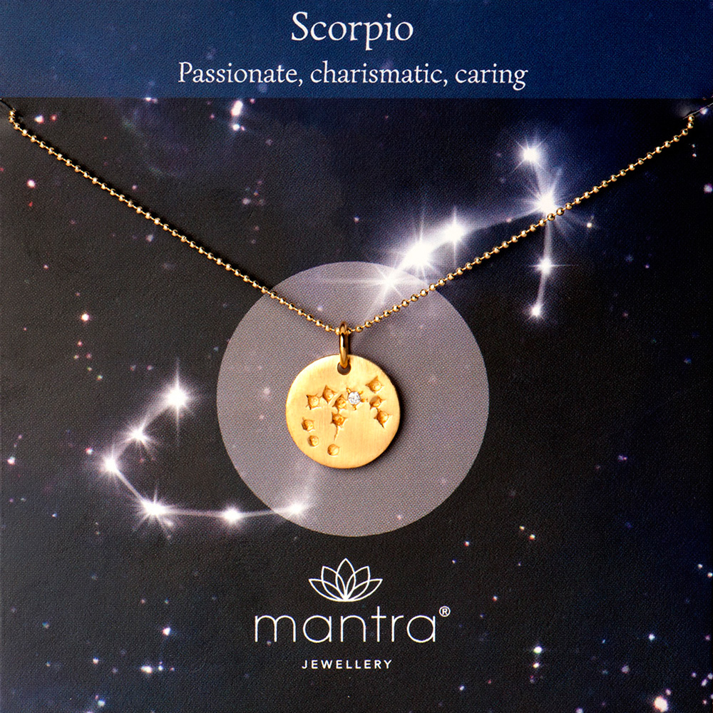 scorpio necklace