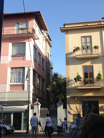 Beautiful buildings in Sorrento