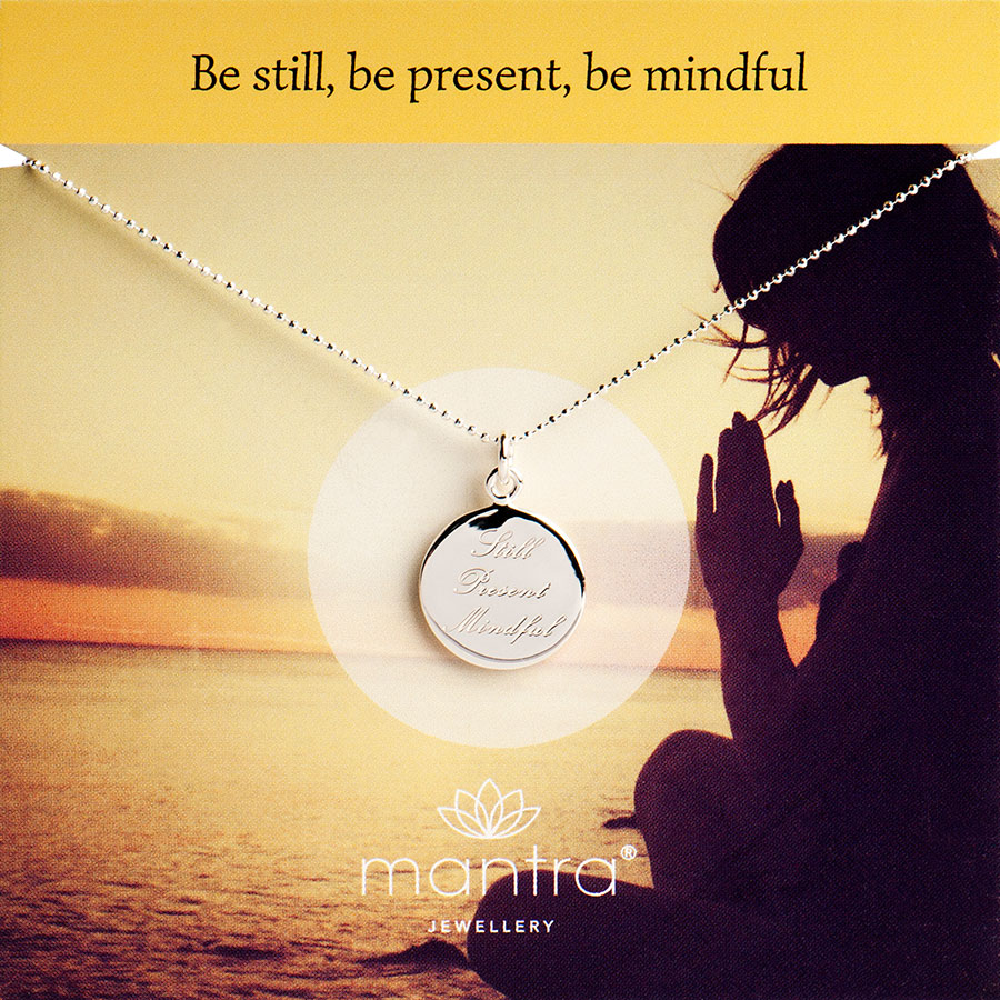 mindful necklace mantra jewellery