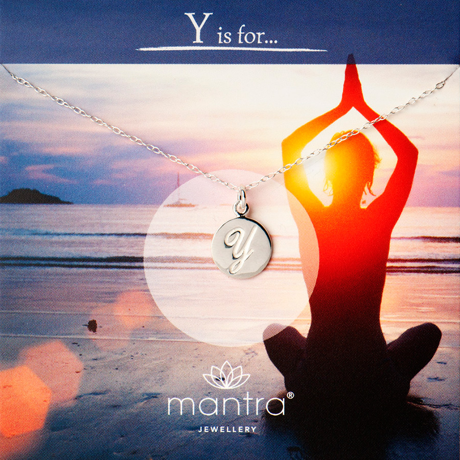 y is for yoga necklace