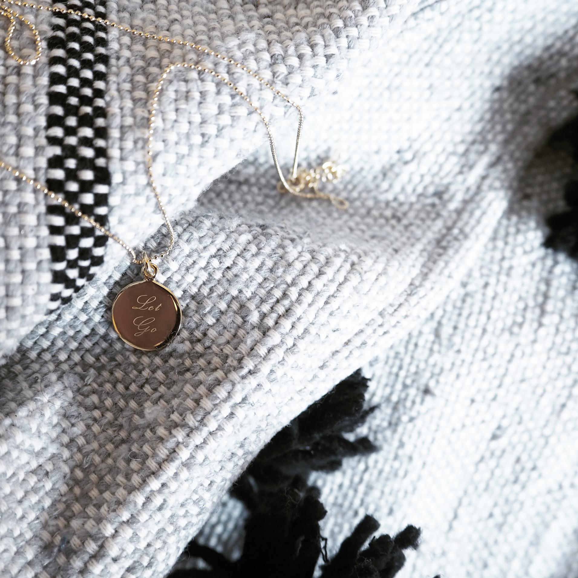 Lauren Mahon wearing Mantra Jewellery