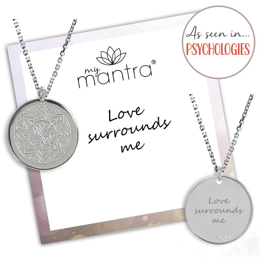 Personalised Love Mandala Necklace