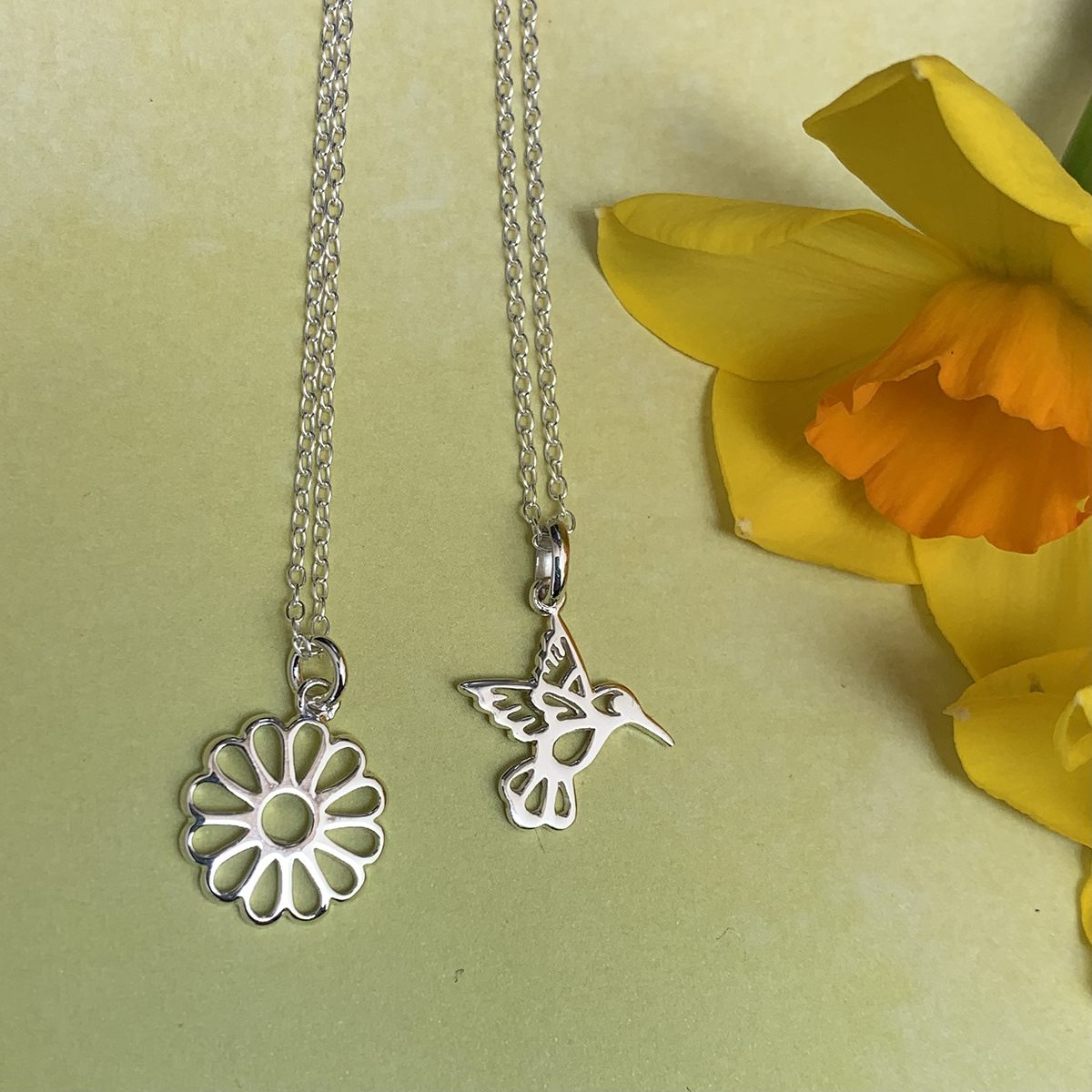 Sterling Silver Symbol Necklaces Photography