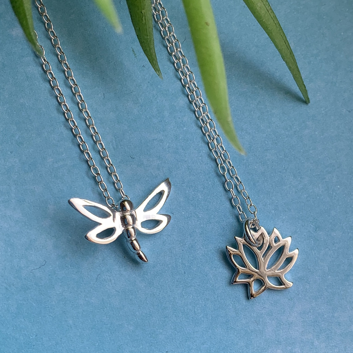 Mindful Jewellery Charm Necklace Photoshoot