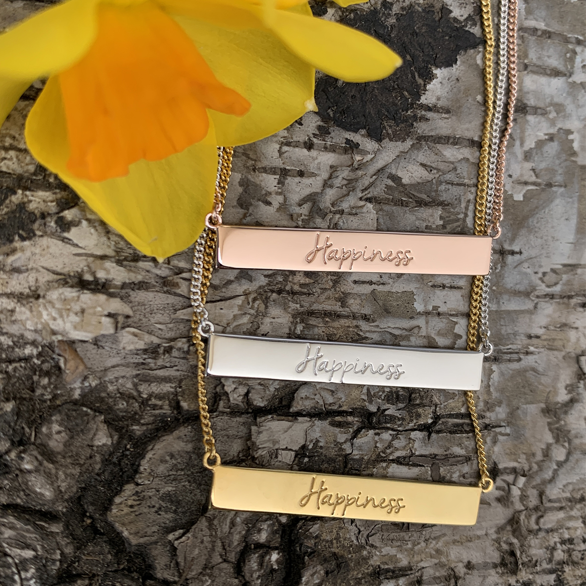Happiness Necklaces Photography