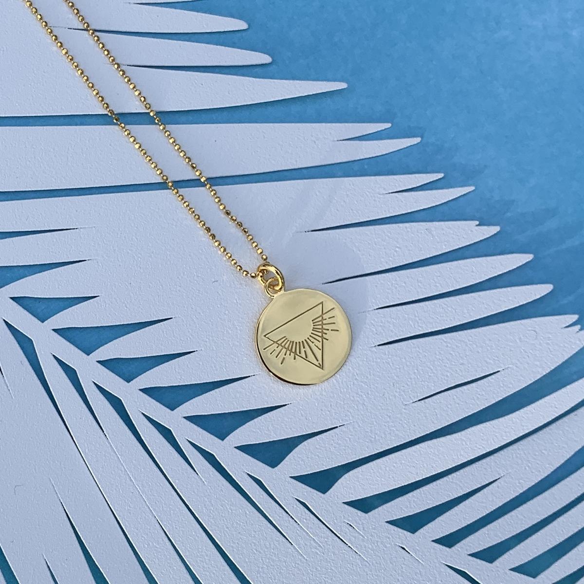 Gold Warrior necklace Photoshoot