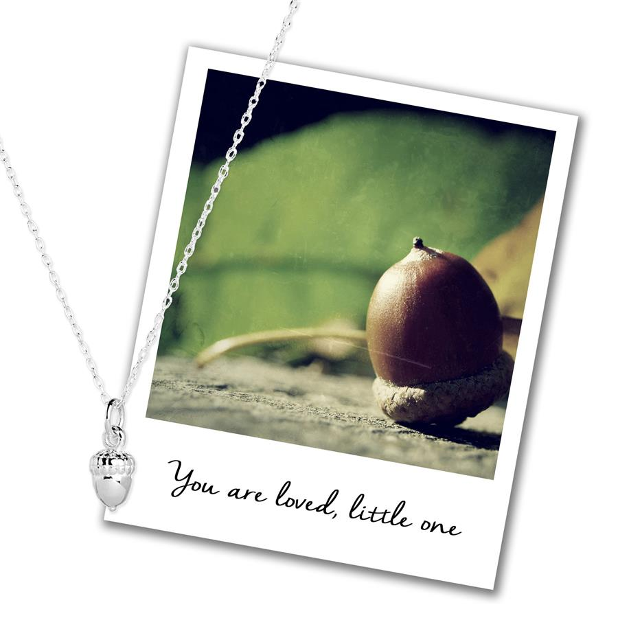 Sterling Silver Acorn Necklace
