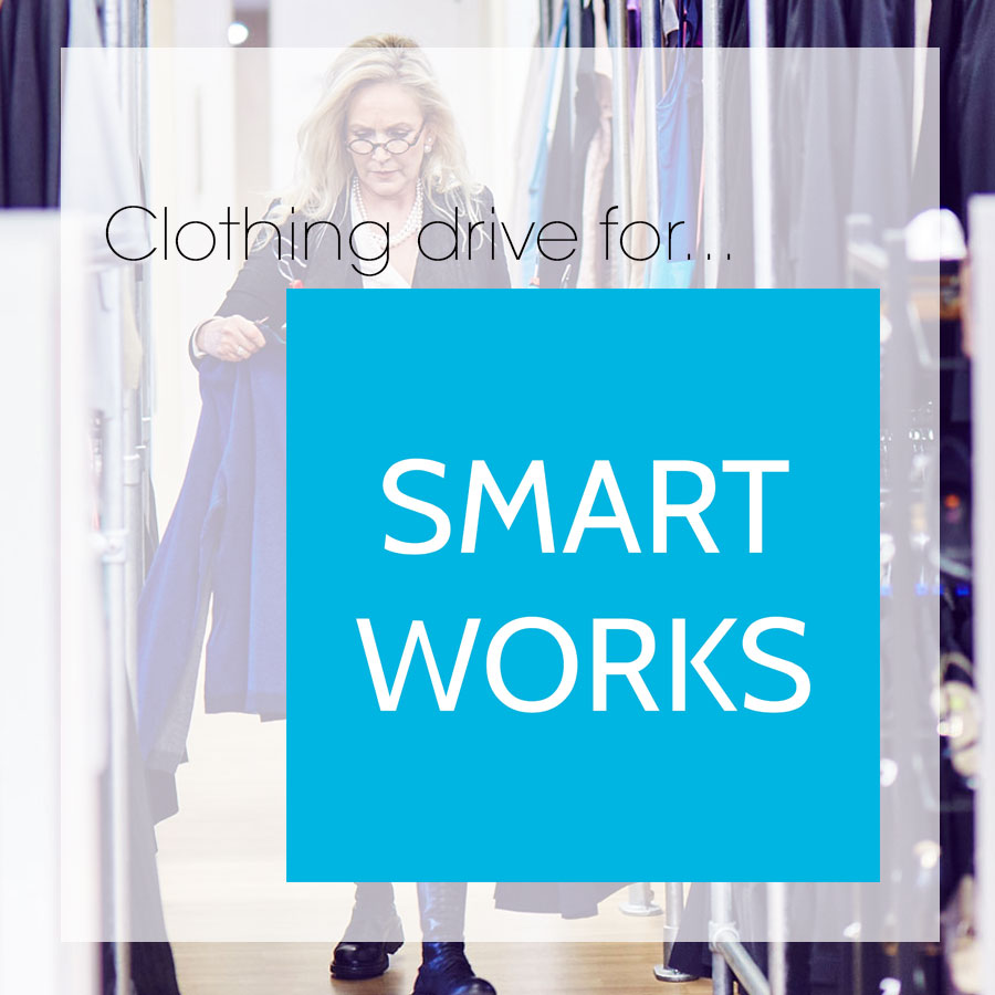 Smart Works Clothing Drive at fabulous/Mantra
