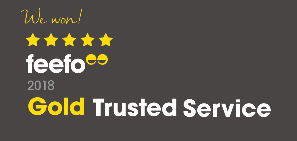 Mantra won the feefo gold trusted service award