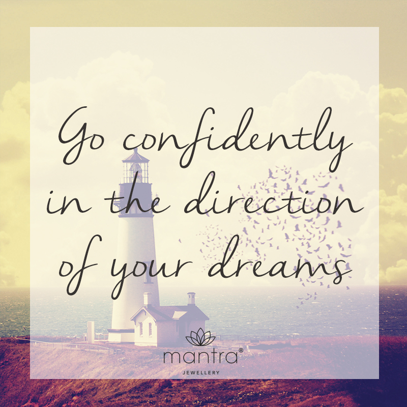go confidently direction dreams inspirational motivational quote authenticity mantra