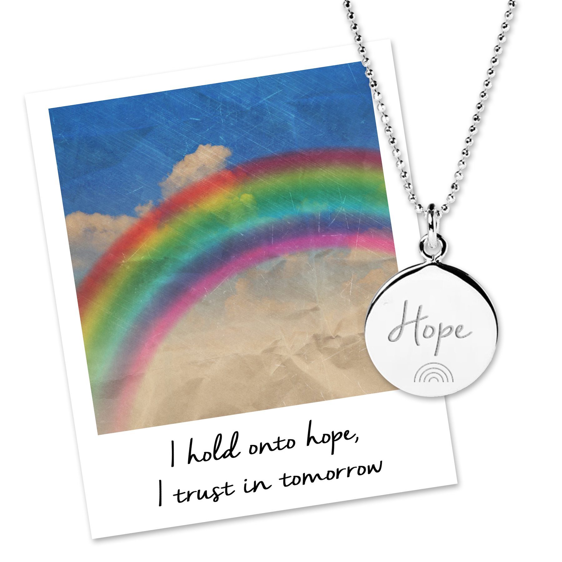 Hope Rainbow Necklace for NHS Charities Together