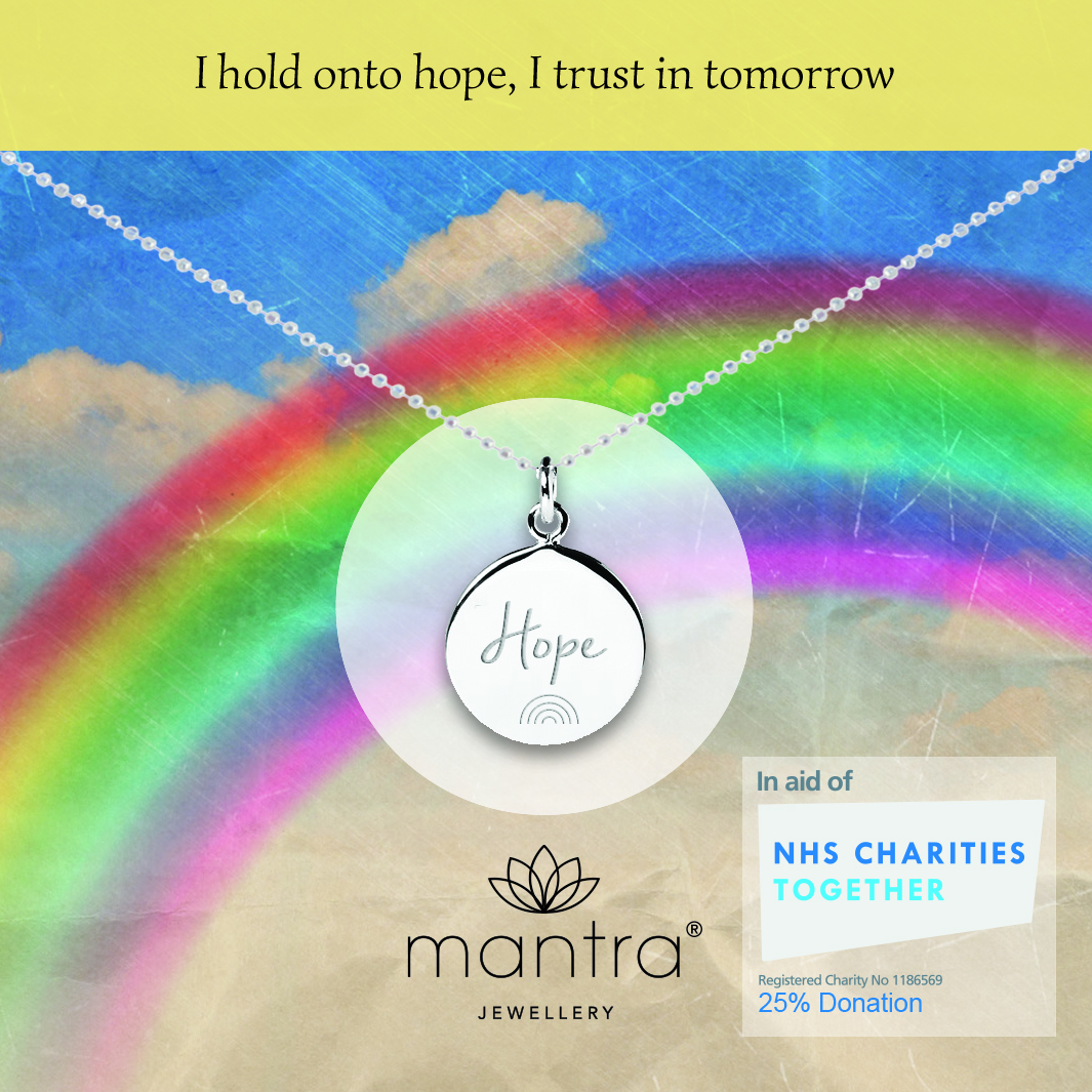 mantra NHS Hope Charity Necklace