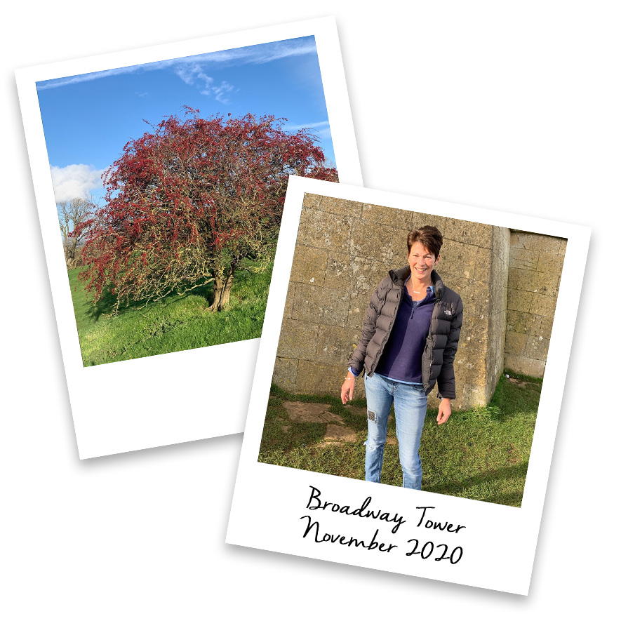 Jo Stroud at Broadway Tower
