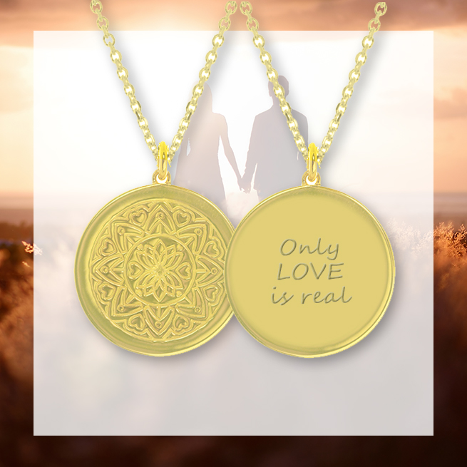 Pallavi myMantra necklace - Only Love is Real