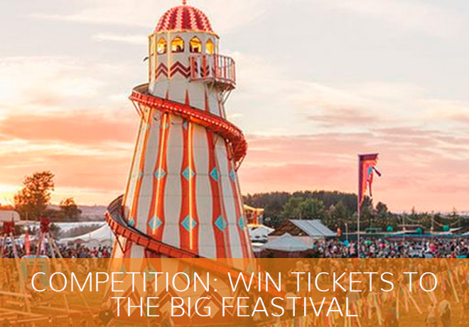 The Big Feastival Competition - Win tickets and Prizes