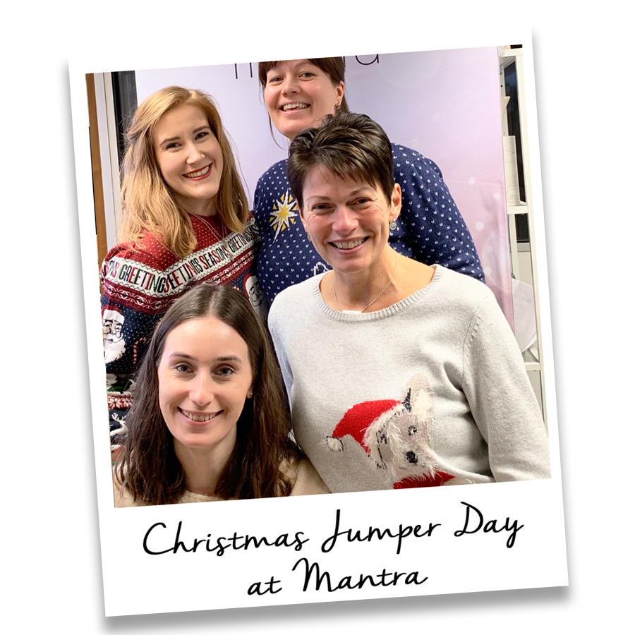 christmas jumper day at mantra