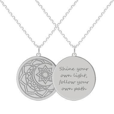 Personalised myMantra necklace