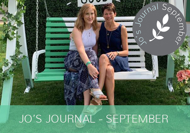 Jo's Journal September