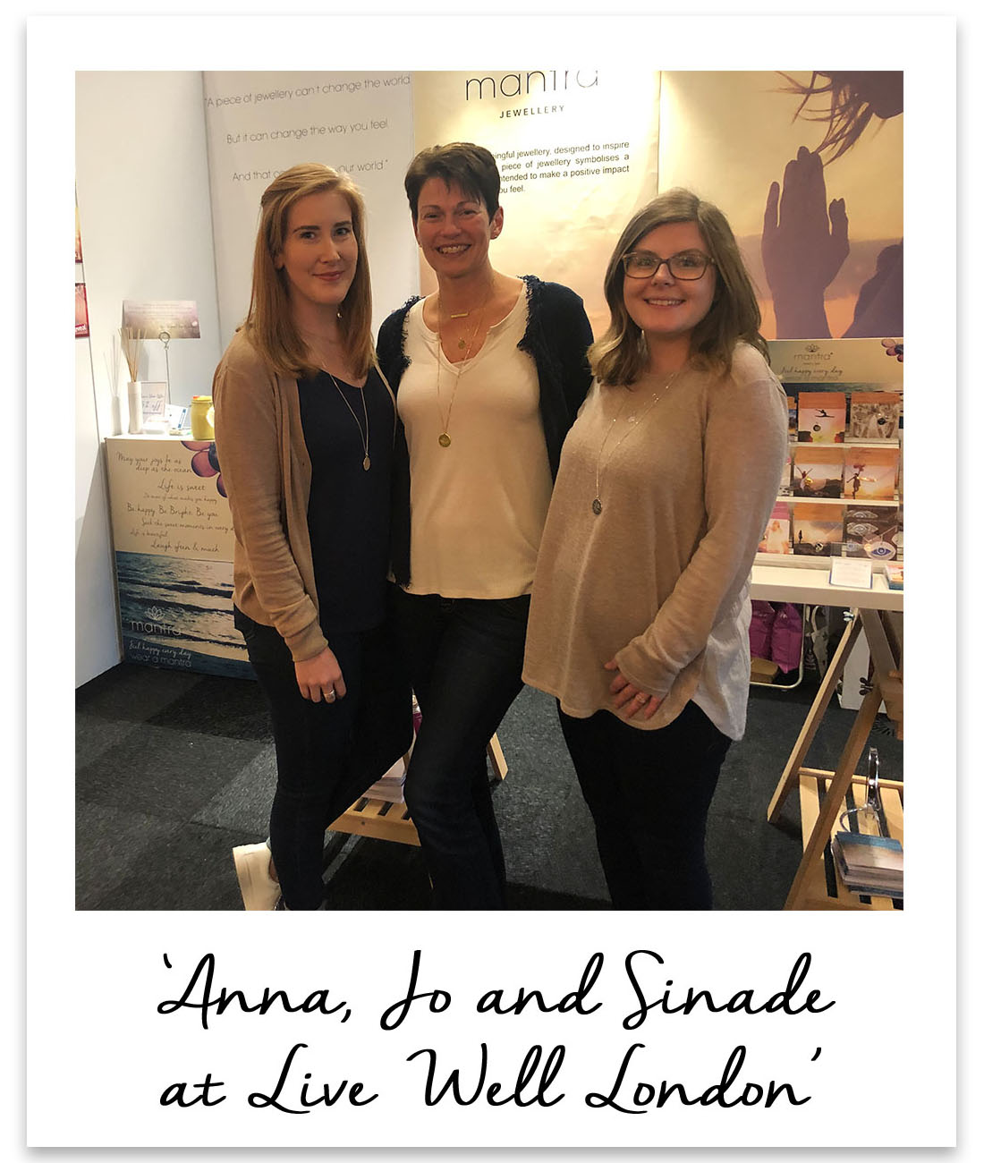Anna, Jo and Sinade at Live Well London