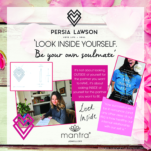 Persia Lawson Heart Necklace Story Board