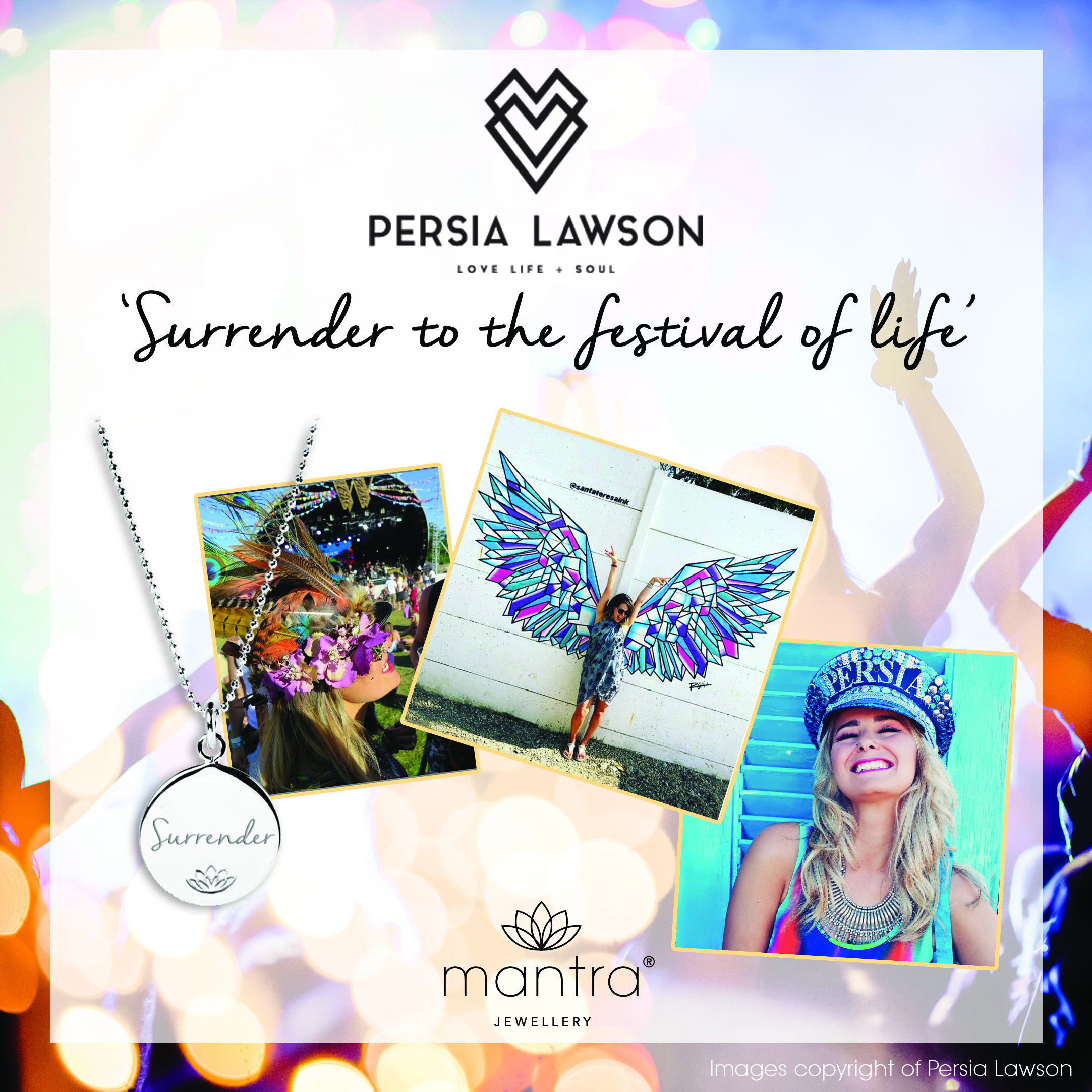 Persia Lawson Surrender Necklace Story Board