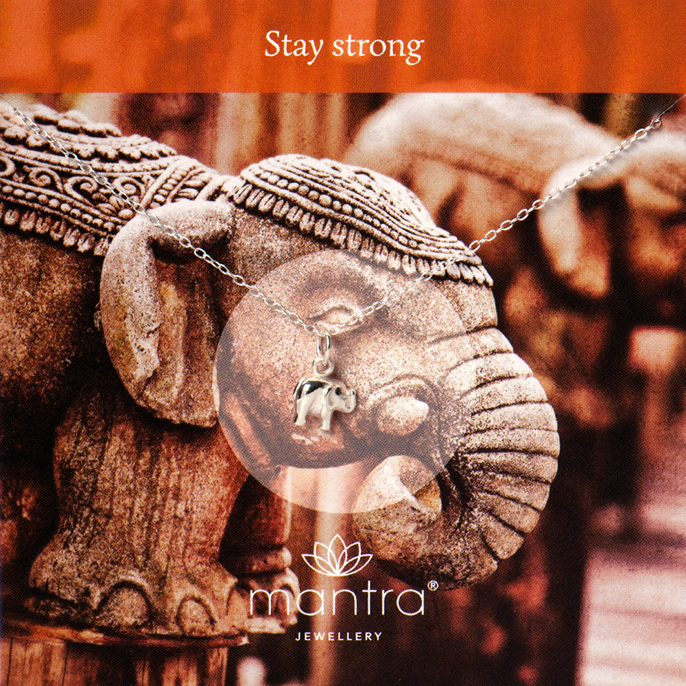 Stay strong necklace by mantra jewellery