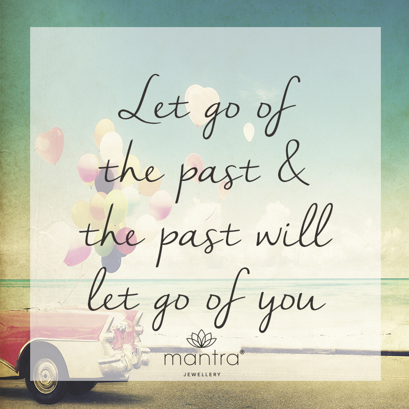 inspirational motivational quote let go of the past authenticity car balloons mantra text