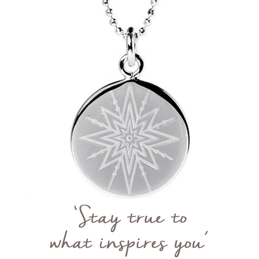 Rose Gold Inspiring Star Necklace